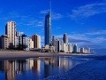 Brisbane a pláž Surfers
