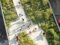 The High Line Park,