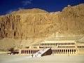 zádušný chrám kráľovnej Hatšepsut,