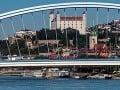 Bratislavský hrad a most