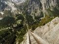 lanovka Gelmerbahn, Švajčiarsko