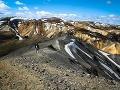 Prechádzka ako po inej planéte - Landmannalaugar, Island