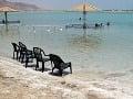 Voda Mŕtveho mora má