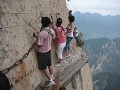 Mount Huashan v Číne