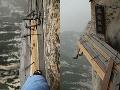 Provizórne mostíky, Mount Huashan,