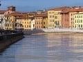 Pisa, Toskánsko, Taliansko