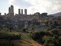 San Gimignano, Toskánsko, Taliansko