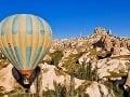 Let balónom, Kappadokia, Turecko