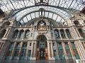 Hlavná stanica, Antverpy, Belgicko