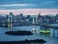 Tokio leží na pobreží
