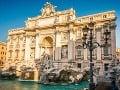 Fontána Di Trevi, Rím,