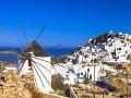 Ostrov Serifos, Grécko