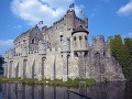 Hrad Gravensteen, Gent, Belgicko