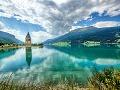 Jazero Reschensee, Taliansko -