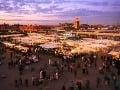 Námestie Djemaael-Fna je najznámejším