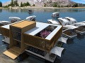 Plávajúci hotel od spoločnosti