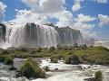 Vodopád Iguazu, Argentína, Brazília