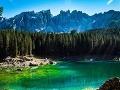Lago di Carezza, Dolomity