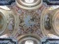 Freska na strope premonštrátskeho