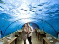 Podmorská reštaurácia Ithaa leží