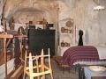 Interiér jednej z jaskýň