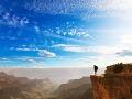Hĺbka Grand Canyonu dosahuje