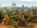 Pagody sa v Bagane