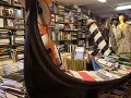 Benátske kníhkupectvo Libreria Acqua