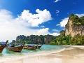 Pláž Railay, Thajsko
