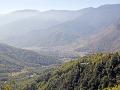 Výhľad z Paro Taktsang