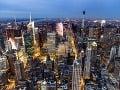 Výhľad na Manhattan z