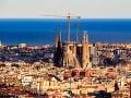Výhľad na panorámu Barcelony