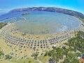 Rajská pláž, Rab