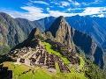 Machu Picchu je zasadené