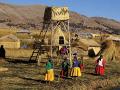 Tradičné odevy prostých Peruáncov