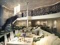 Luxusné interiéry patria na