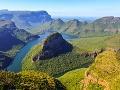 Juhoafrický kaňon pri rieke