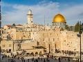 Skalný dóm v Jeruzaleme.
