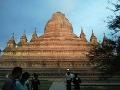 Chrám v Bagane bez