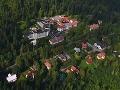 Letecký pohľad na osadu