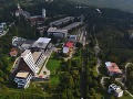 Letecký pohľad na centrálnu