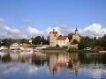 Výhľad na hrad Seeburg
