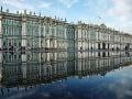 Majestátnosť Zimného paláca znásobujú