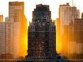 Západ slnka nad Manhattanom,