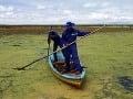 Jazero Titicaca pripomína smetisko