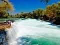 Vodopády Manavgat, Turecko