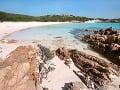 Ružová pláž, La Maddelana,