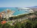 Malaga: Moderné budovy v