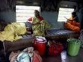 Indické ženy cestujú v