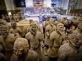 Sochy terakotovej armády, vystavené